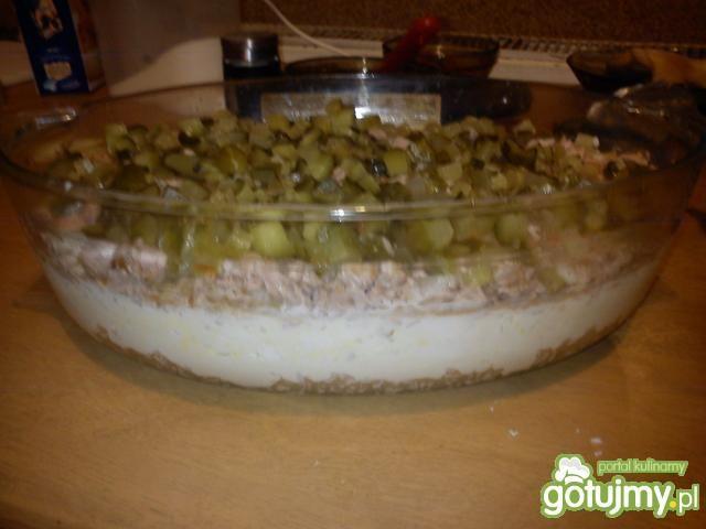 Sałatka z tuńczykiem i ryżem 4