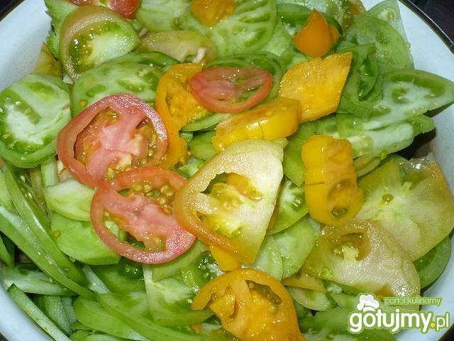 Sałatka z zielonych pomidorów 5
