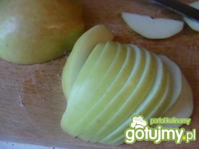 Schab z jabłkami