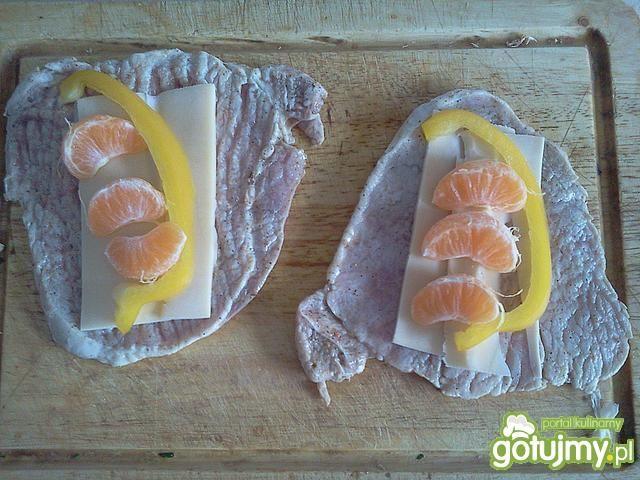 Schab z mandarynką w marynacie z cytryn