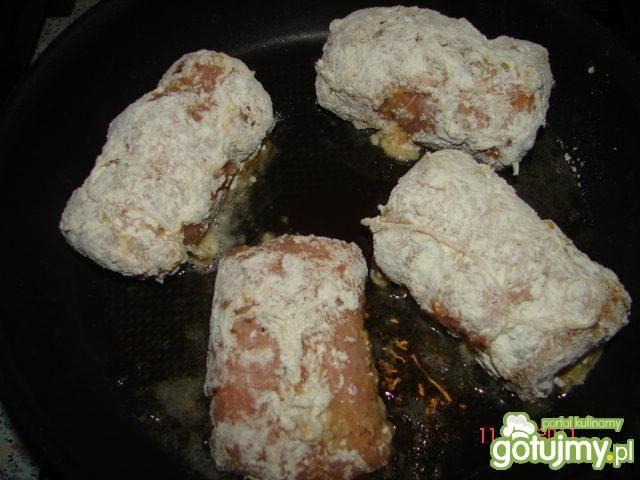 Schabowe roladki - obiad w 1 dzień Świąt