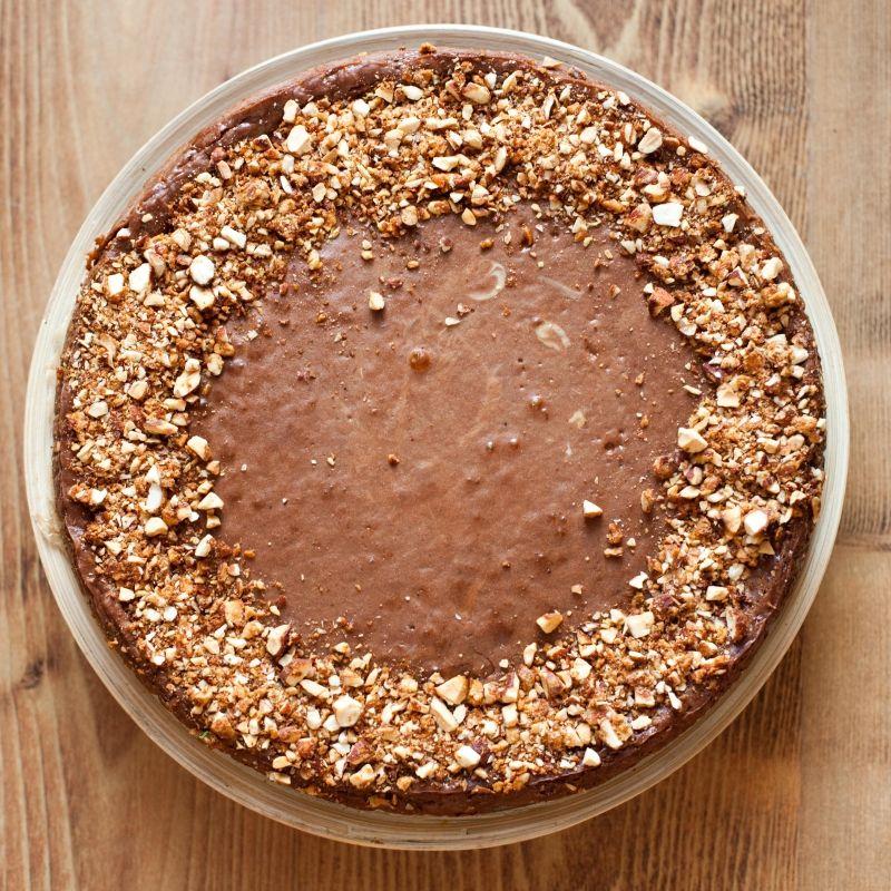 Sernik czekoladowy z likierem Baileys