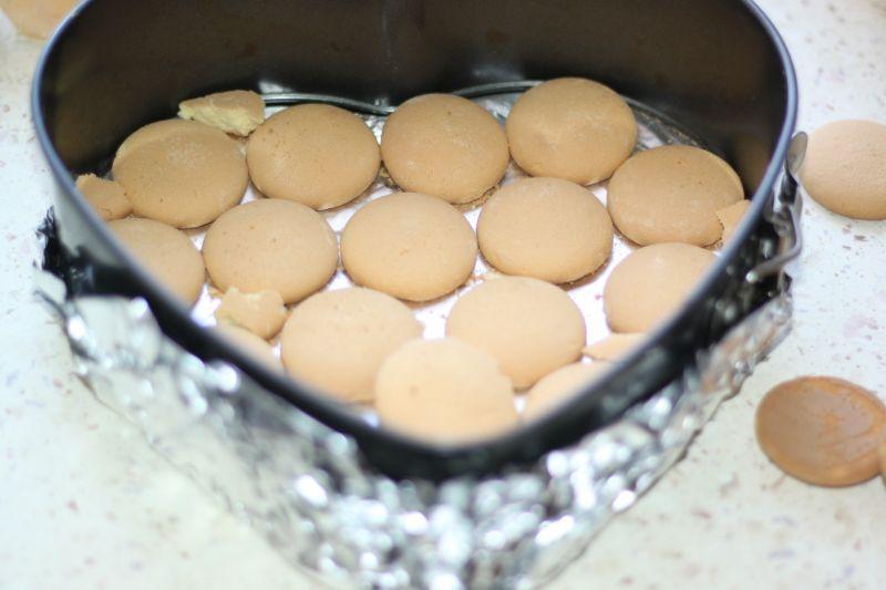 Sernik na zimno z mascarpone i serków waniliowych