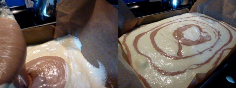 Sernik waniliowo czekoladowy