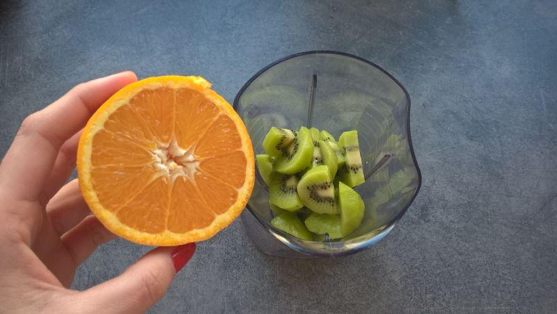 Shake z kiwi i pomarańczy