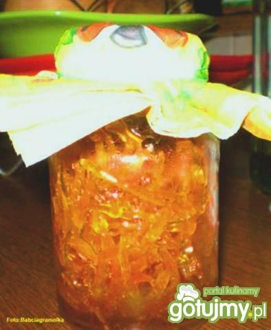 Skórka pomarańczowa kandyzowana :