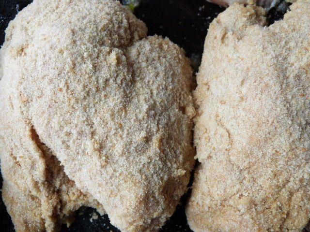 Skrzydełka z kurczaka pieczone w panierce