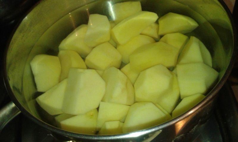 śląska ciapkapusta czyli ziemniaki z kapustą razem