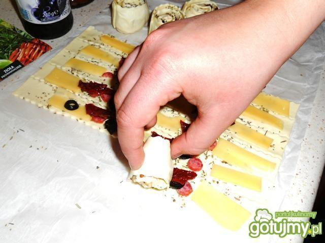 Ślimaczki z francuskiego ciasta