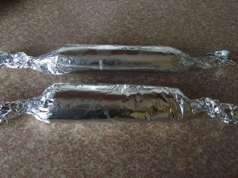 Ślimaki z tortilli z ogórkiem konserwowym