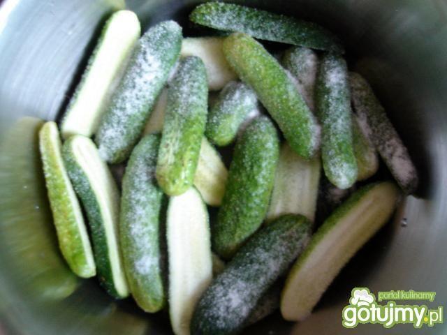 Słodko-ostre ogóreczki na zimę
