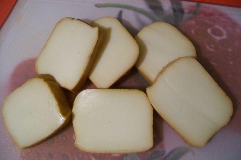 Smażona panierowana mozzarella