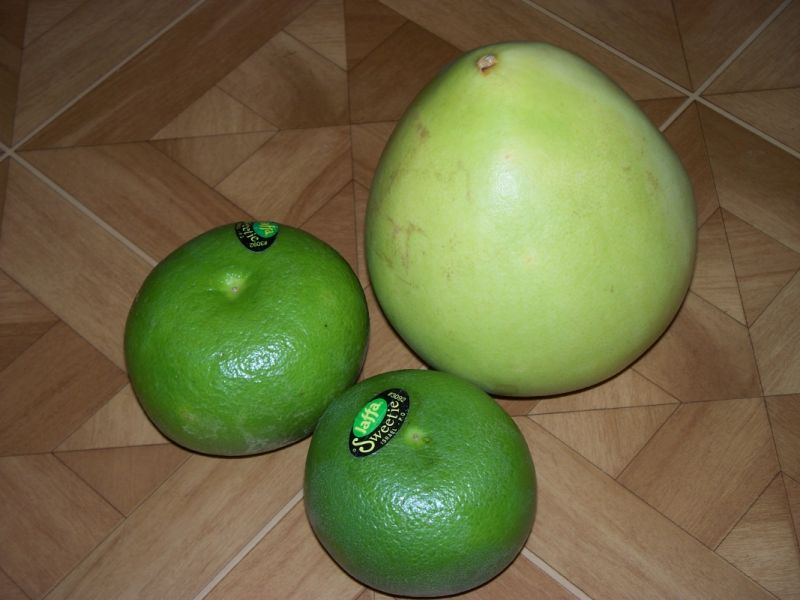 Smoothie grapefruit sweetie i pomelo