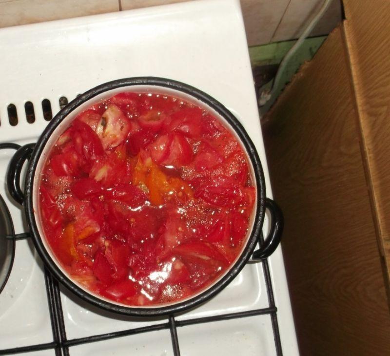 Sok pomidorowy domowy