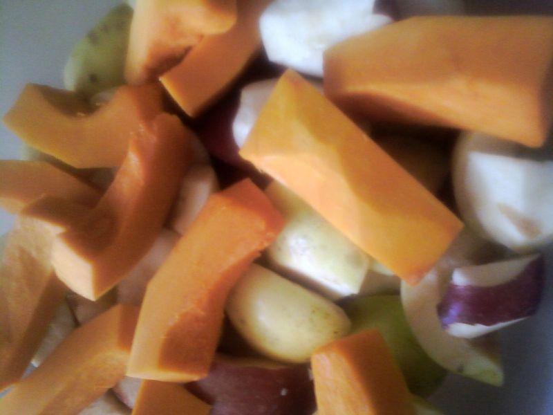 Sok warzywno- owocowy z sokowirówki