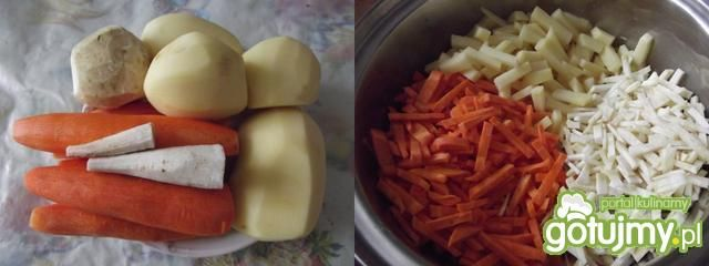 Sola na warzywnej salsie z nutą orientu