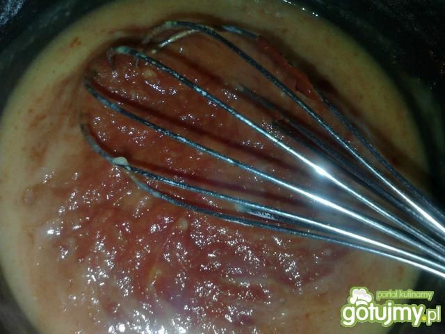 Sos pomidorowo-koperkowy