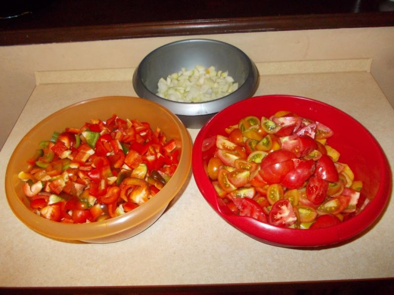 Sos pomidorowo - paprykowy
