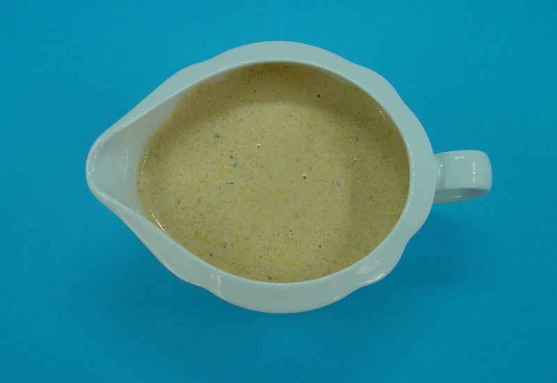 Sos śmietanowo - pieprzowy / do kotleta schabowego