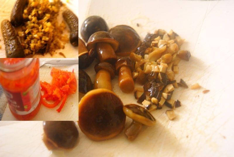Sos tatarski z dodatkiem papryki konserwowej