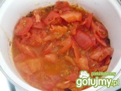 Sos ze świeżych pomidorów.