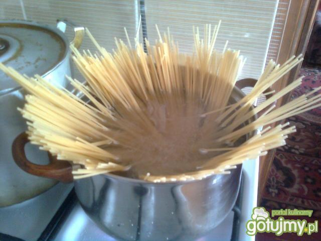 Spaghetti na szybko