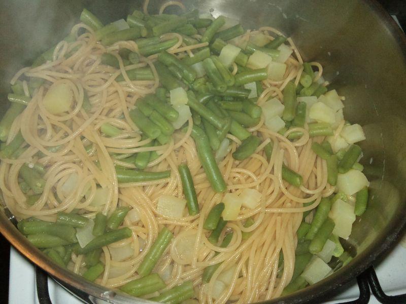 Spaghetti po genueńsku