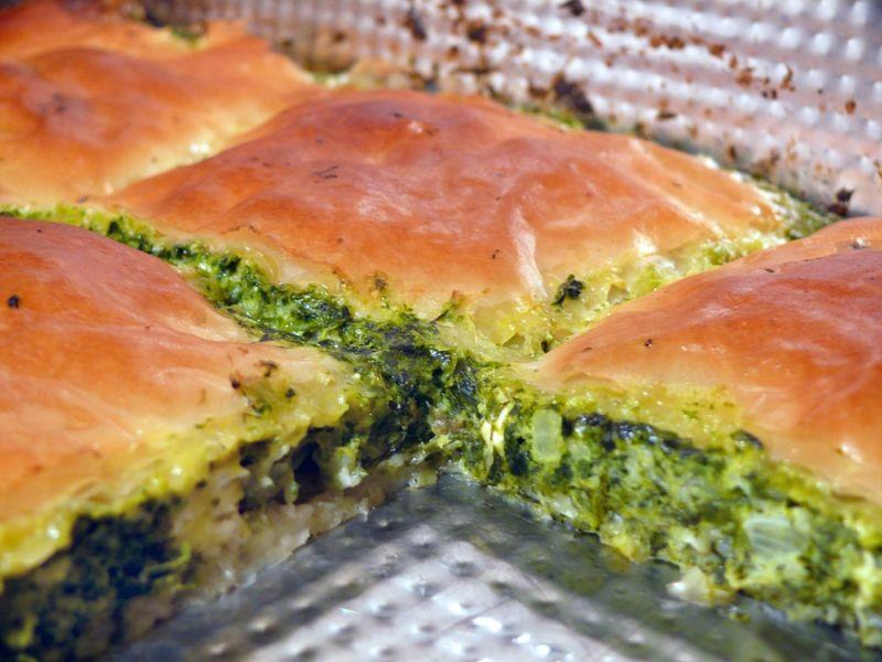 Spanakopita - tradycyjne greckie danie