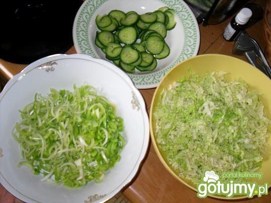 Surówka obiadowa na zielona