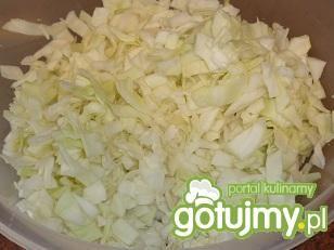 Surówka z białej kapusty z papryką 2