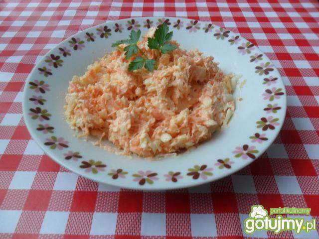 Surówka z marchewki z chrzanem