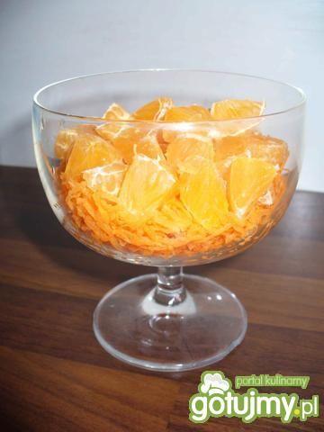 Surówka z marchwi i mandarynek
