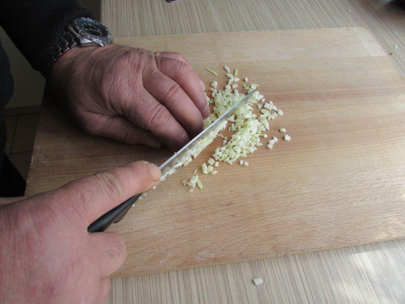 Surówka z porą do ziemniaków