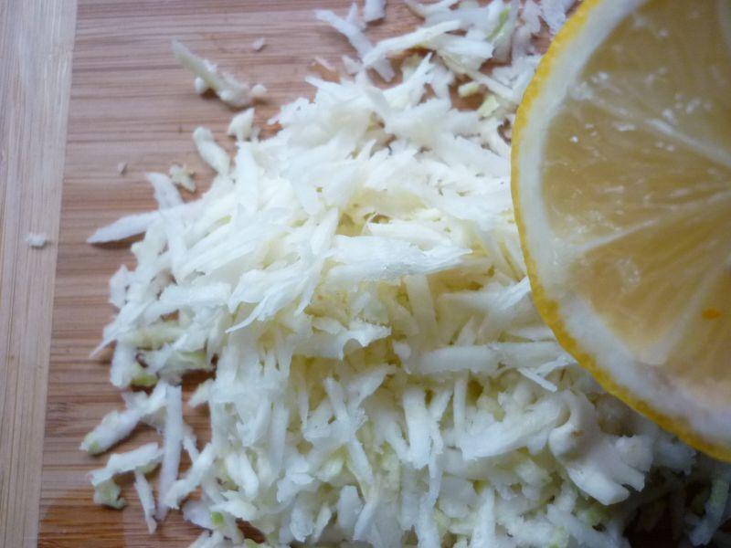 Surówka z selera i dyni