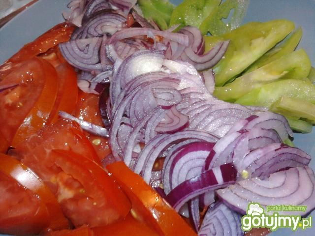Surówka z zielonych pomidorów