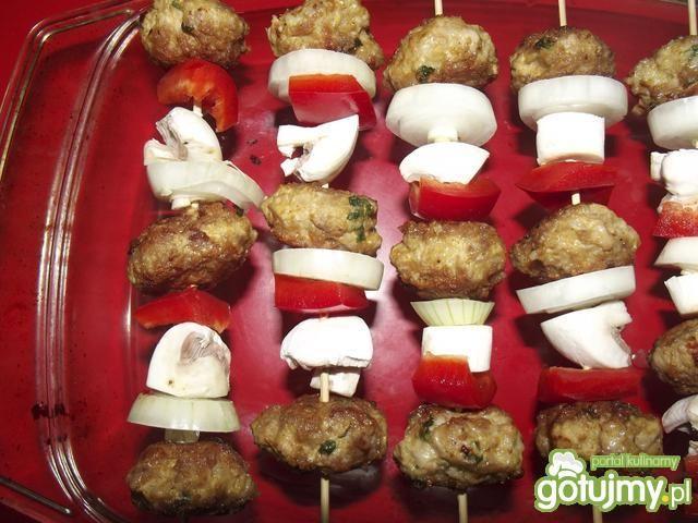 Szaszłyki z mięsa mielonego 4