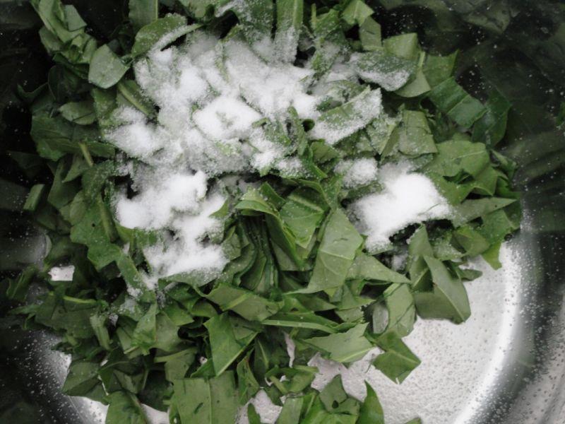 Szczaw w słoikach na zimę