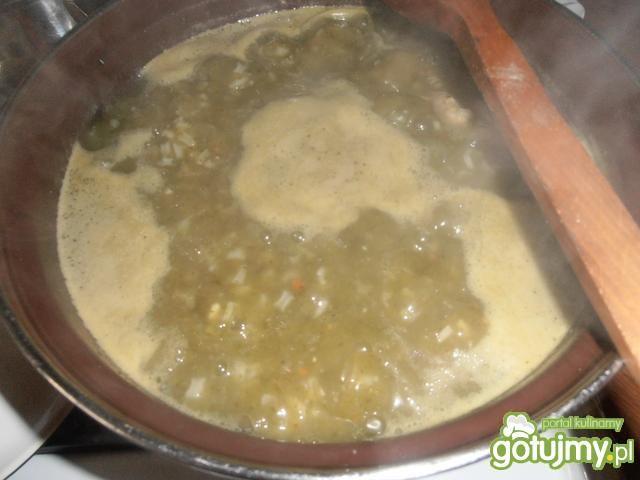 Szczawiowa z ryżem