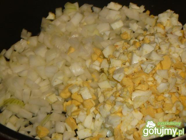 Szybka sałatka z szynką