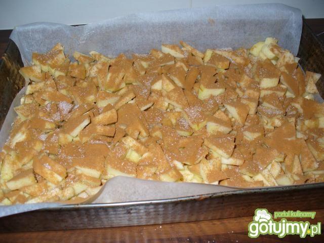 Szybki jabłecznik na mące ziemniaczanej