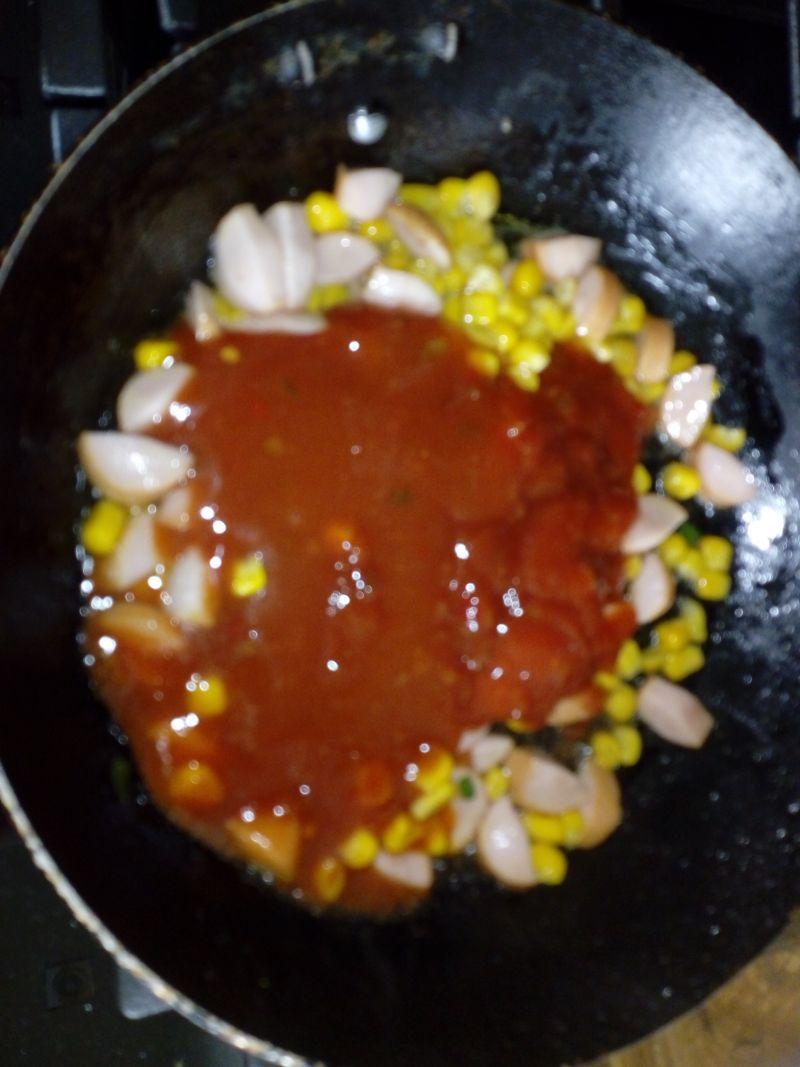 Szybki sos do makaronu