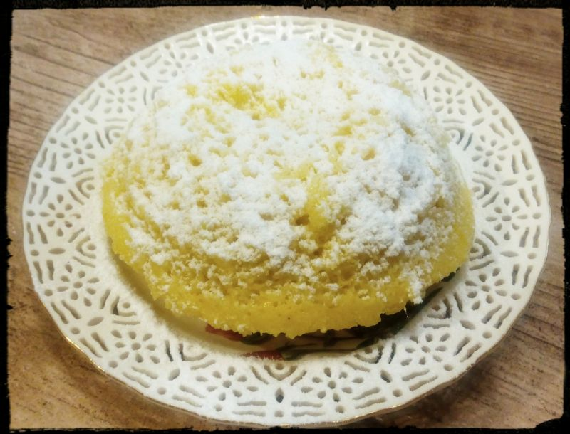 Szybkie ciasto z mikrofali