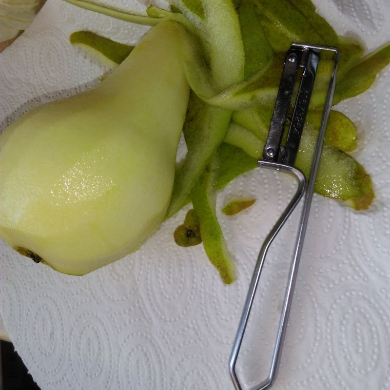 Szybkie gofry gruszkowe