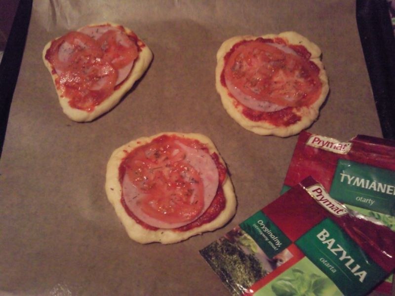 Szybkie mini pizzerinki