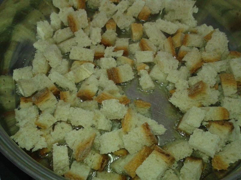 Szybkie , proste grzanki chlebowe