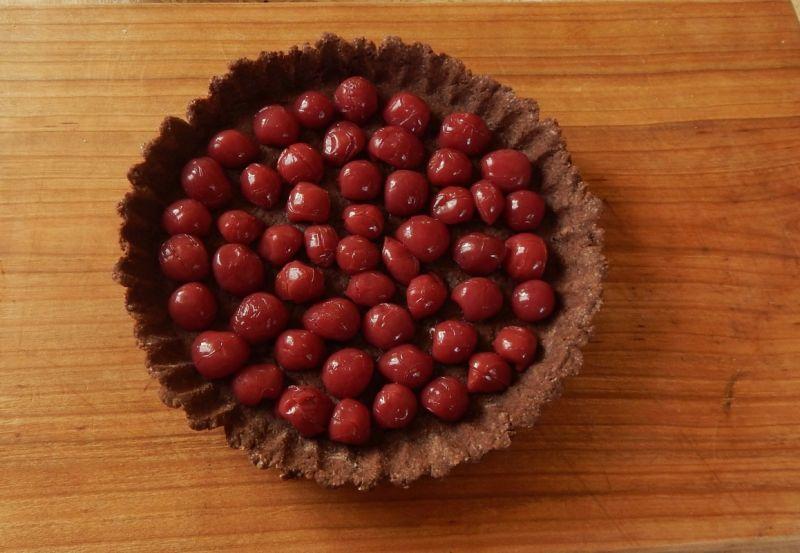 Tarta czekoladowo wiśniowa