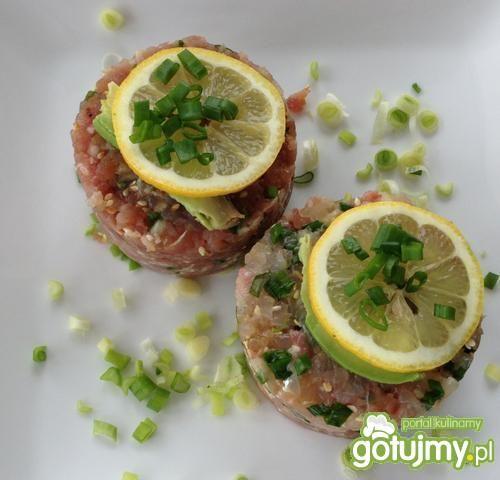Tatar z dwóch ryb