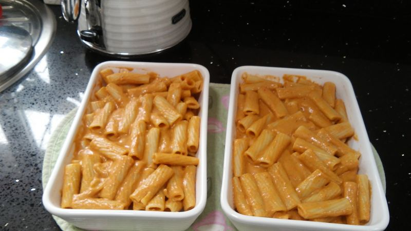 Tomato Macaroni Cheese