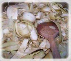 Torcik z kaszy z bakłażanem i grzybkami