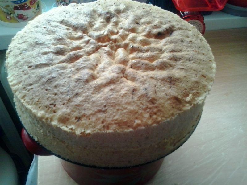 Tort ajerkoniakowo kawowo kakaowy